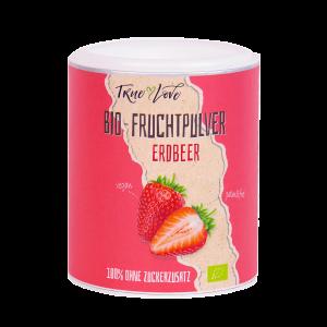 Bio-Fruchtpulver Erdbeer