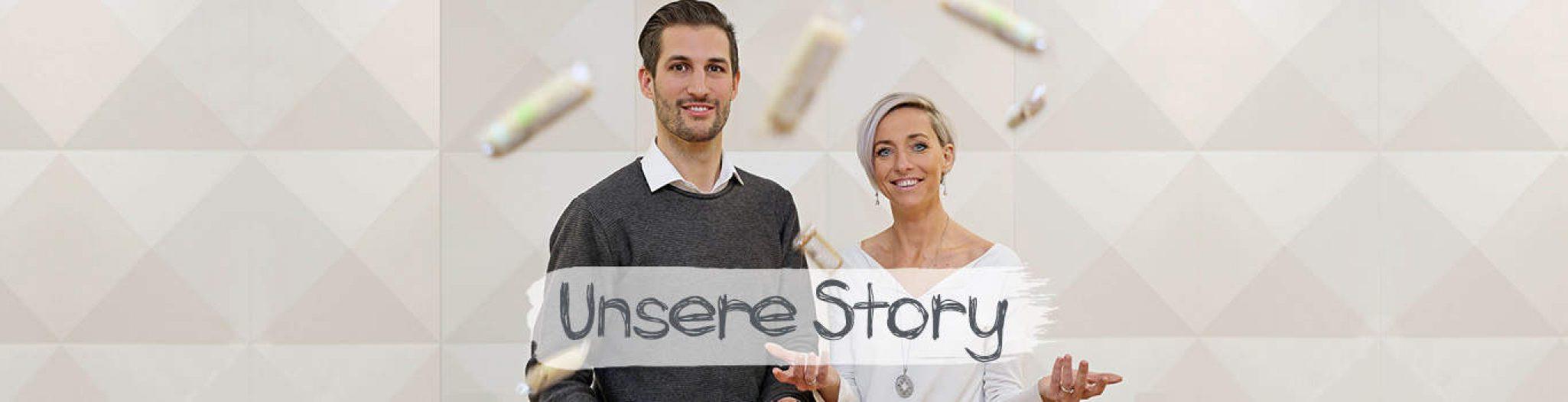 Unsere Story Header